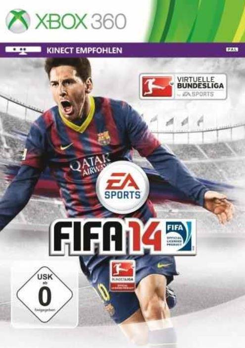 Fifa 14 für XBox 360 und PS3 für je 49,90€