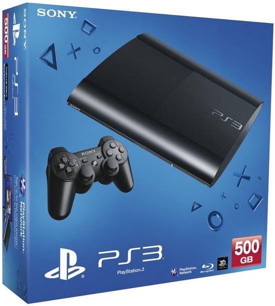 Sony PlayStation 3 Super Slim 500GB im Super Game Bundle für nur 266,46€
