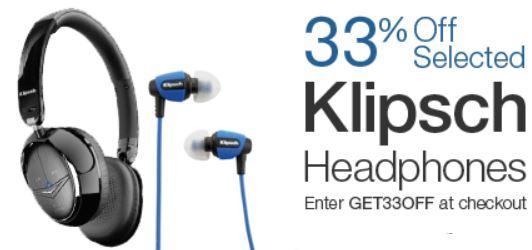 Klipsch Kopfhörer mit 30% Rabatt!