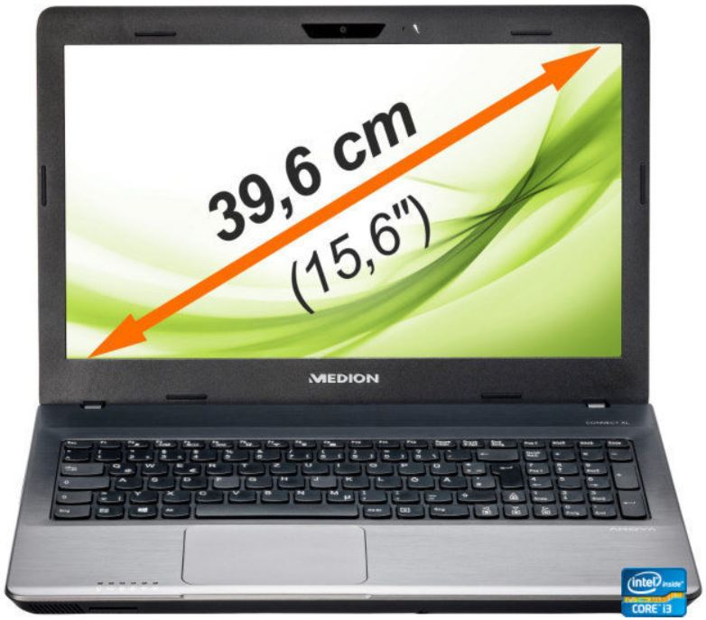 Medion Akoya P6640   15,6 Notebook mit i3 3120M 39, 1TB HDD + 8 GB für 333€   wieder da!