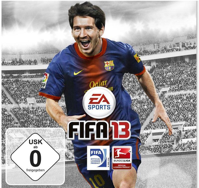 FIFA 13 für Nintendo 3DS/ Wii/ Wii U als Game Deal des Tages ab 22,97€
