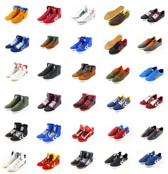 Hummel Damen und Herren Leder Schuhe und Sneaker für je Paar 42,99€