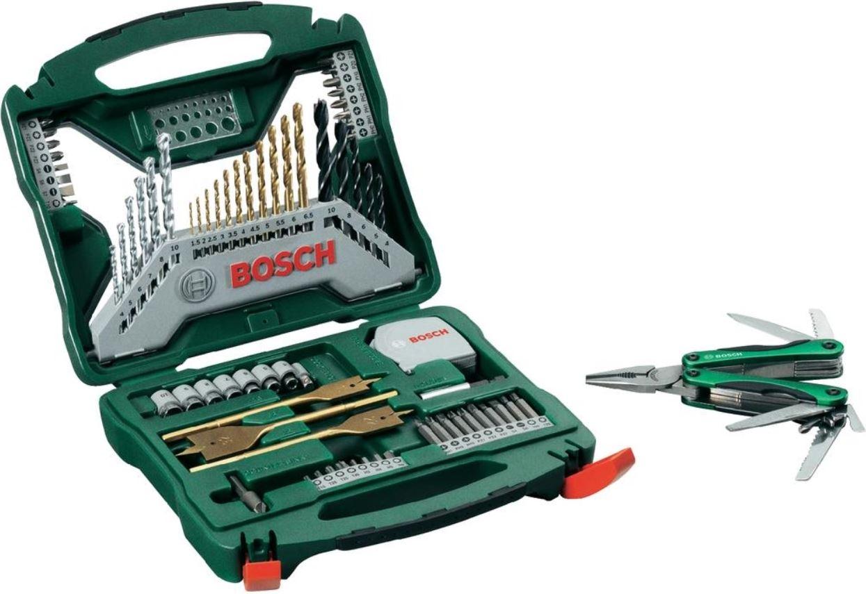 Bosch Promoline X Line Set 70 Teile Bohrer und Bit Set + Multitool  für 24,99€ Update
