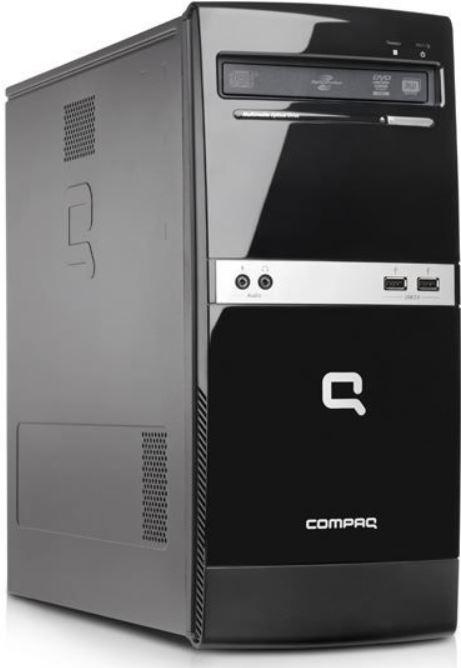 HP 600B B5G83EA   Desktop PC mit Dual Core 2.5 GHz, 500 GB, 2 GB, Win 8 für 199€