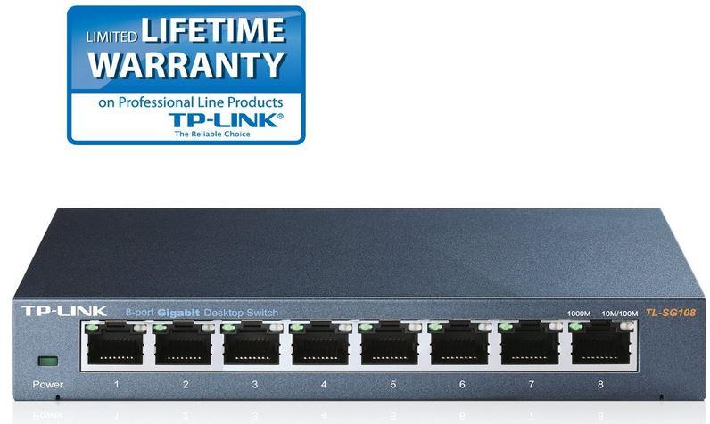 TP Link TL SG108   8 port Gigabit Switch und mehr Amazon Blitzangebote!
