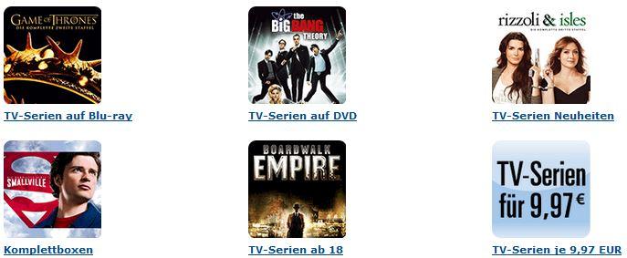 3 Tage TV Serien   Amazon Schnäppchen!