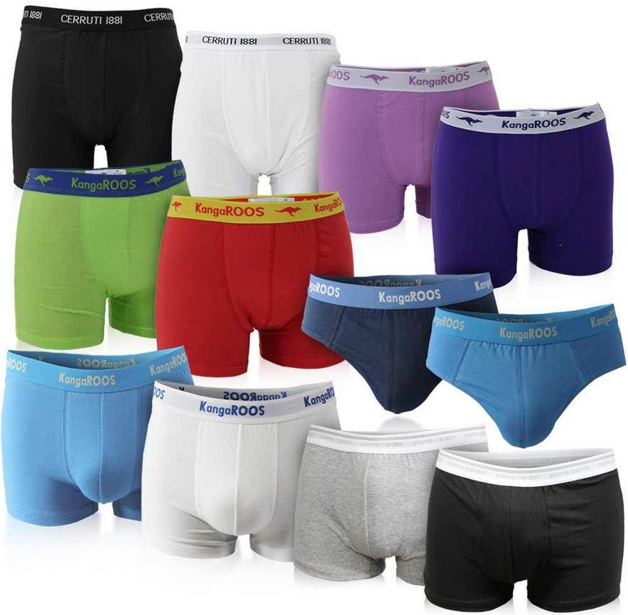 Pierre Cardin, KangaROOS oder Cerruti im 6er Pack Boxer Shorts und Slips, für je Set 24,99€   wieder da!