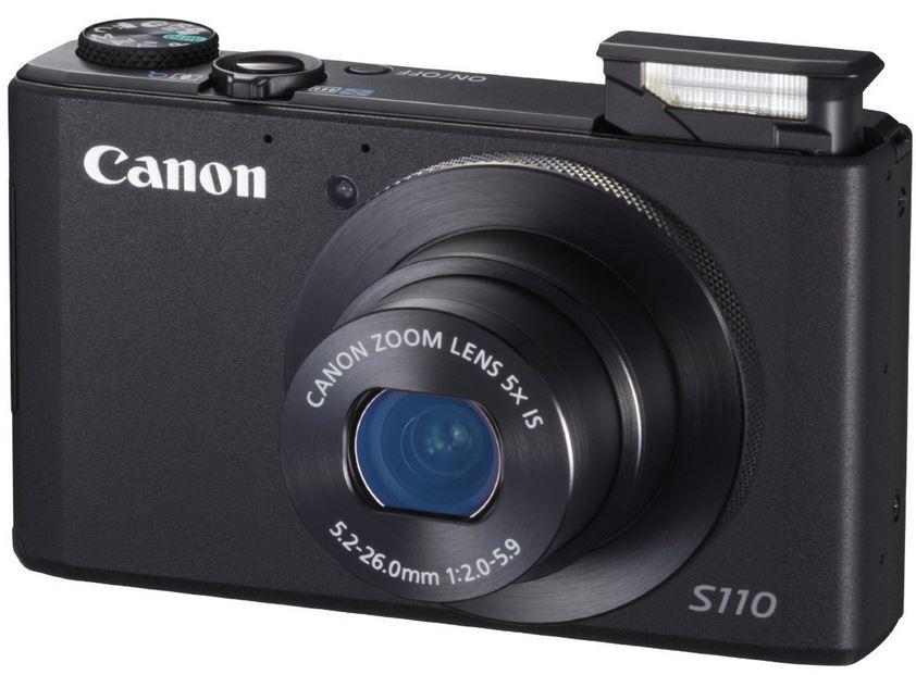 CANON POWERSHOT S110 Digital Kamera für ~190€   wieder da!