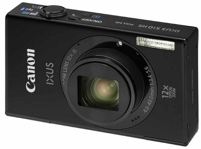 Canon IXUS 510 HS mit 10,1 Megapixel Digicam für 119€