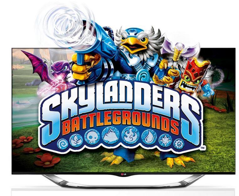 LG 55LA6918   55 Cinema 3D WLan Smart TV für 849€ inkl. Skylander Battlegrounds Starter Paket