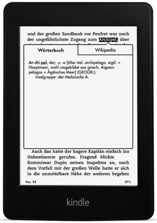 Kindle Paperwhite 3G (2014) statt 160€ ab 114€