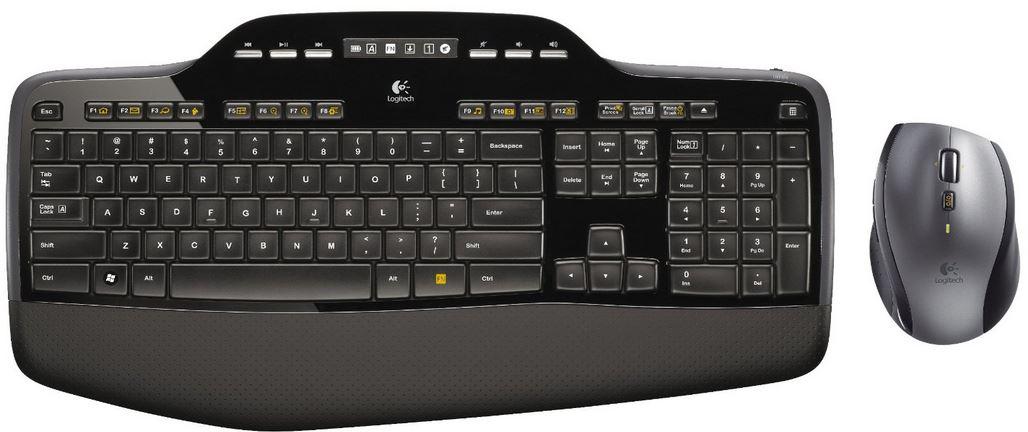 Logitech MK710 Tastatur mit Maus für 69€ und mehr Amazon Blitzangebote