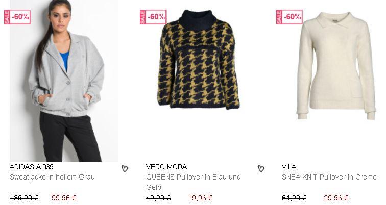 7Trends   60% Rabatt auf Damenmode + 20% Gutschein auf Saleware   Update!