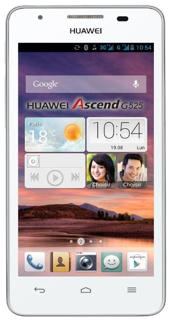 Huawei Ascend G525 Dual SIM Smartphone mit Quad Core Prozessor für 129€