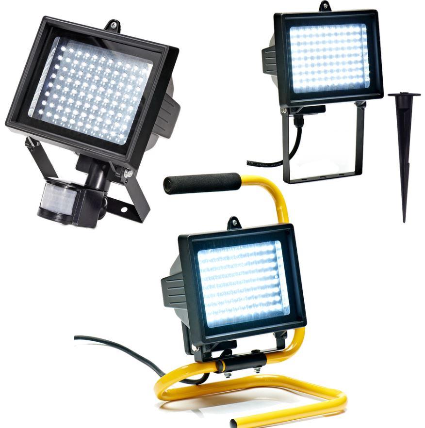 LED Flutlichstrahler mit IP44 und Bewegungsmelder für 22,90€    Update!