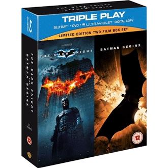 Batman Begins + The Dark Knight als Blu ray für 8,43€