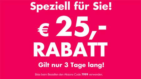 25€ Beate Uhse Gutschein   60€ MBW