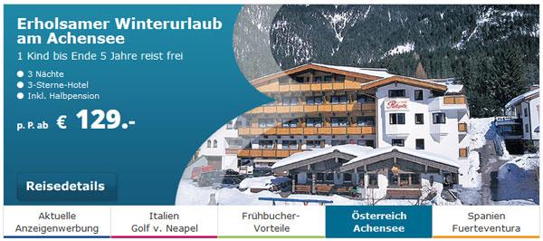 50€ Gutschein für Berge & Meer   top Skireisen in Österreich und Bayern
