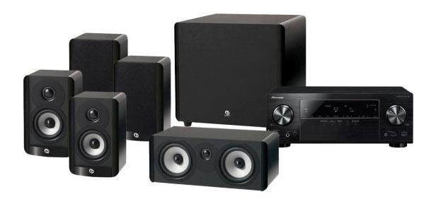Update! Pioneer VSX 528 K + Boston A 2310HTS zusammen für 499€   AV Receiver mit 5.1 Lautsprechersystem
