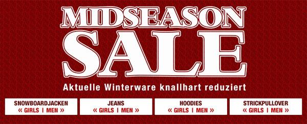 Midseason Sale bei Planet Sports + 20€ Gutschein   Update!