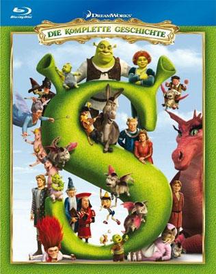 Shrek Teil 1 4 für 25,99€   4 Blu rays