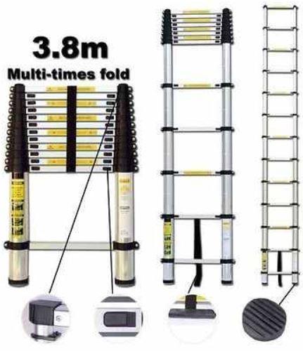 ALU Teleskop Anlegeleiter 3,80M für 69,95€