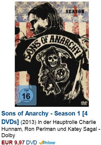 Update! Günstige TV Serien auf DVD und Blu ray bei Amazon