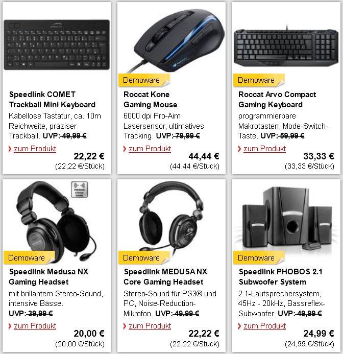 Roccat Arvo Compact Gaming Keyboard für 30,33€ und mehr nicht nur Gamer Angebote