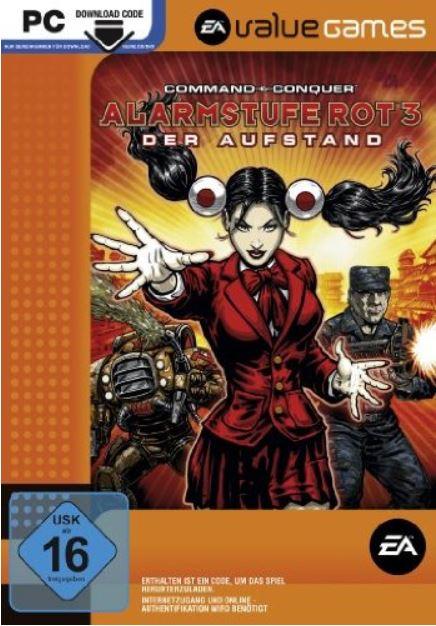 Weekend Download Games bei Amazon z.B. Command & Conquer   Alarmstufe Rot 3: Der Aufstand für 2,97€