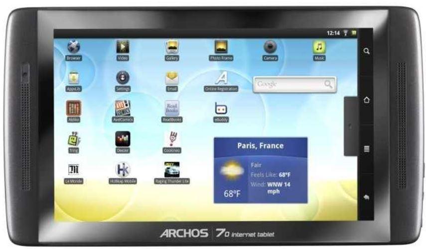 ARCHOS 7.0   7Zoll Tablet mit 250 GB für 149€