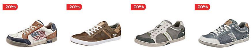 Mirapodo 7 Tage Sale   heute 244 MUSTANG Schuhe mit 20% Extra Rabatt