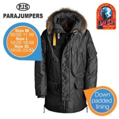 Parajumpers Kodiak Herren Parka für 257,95€ (Vergleich 858,50€)   Update