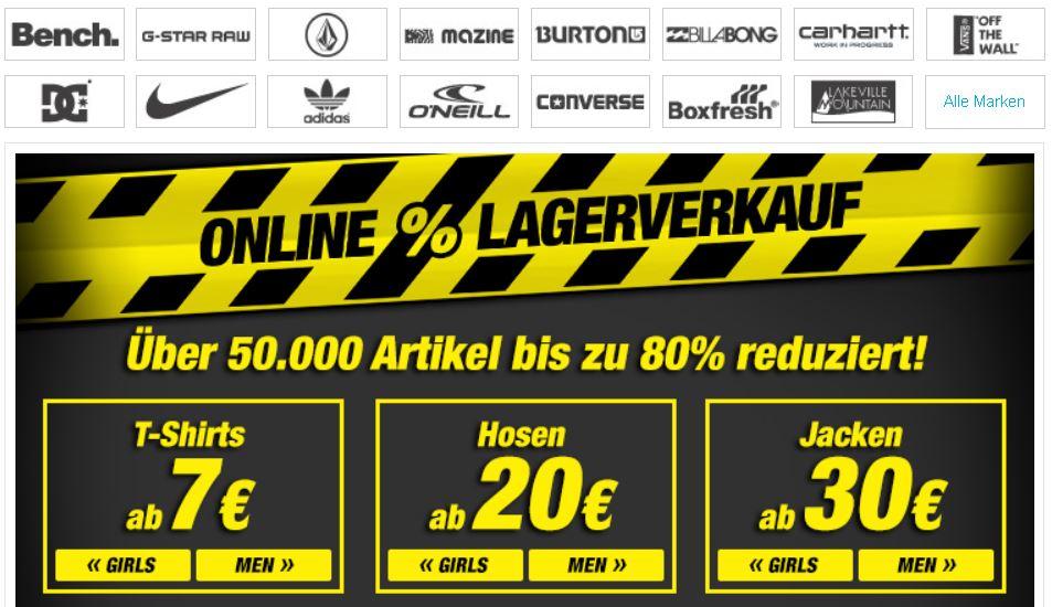 Planet Sports   Online Lagerverkauf mit bis zu 80% Rabatt + Gutschein