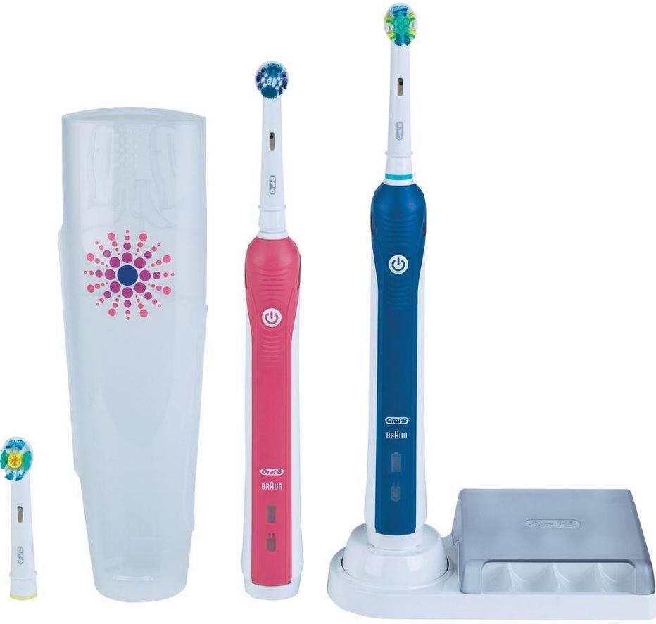 Braun Professional Care 3000 Elektrische Zahnbürste inkl. 2. Handstück für 99,95€
