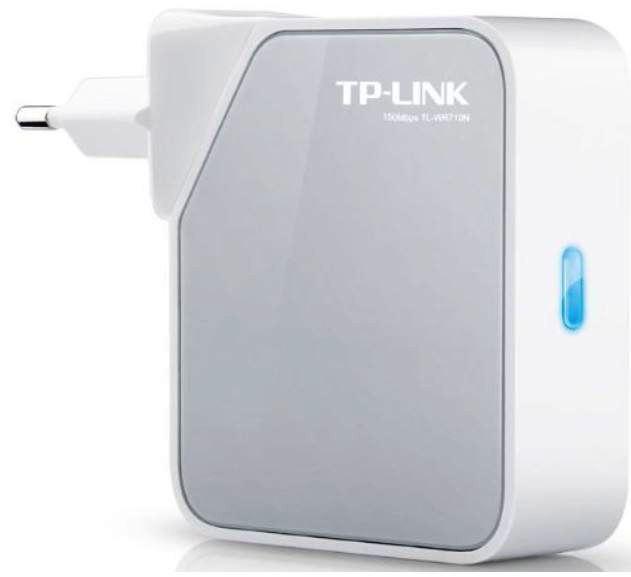TP Link TL WR710N Wireless N Nano Pocket Router und Repeater für 19,90€   wieder da!