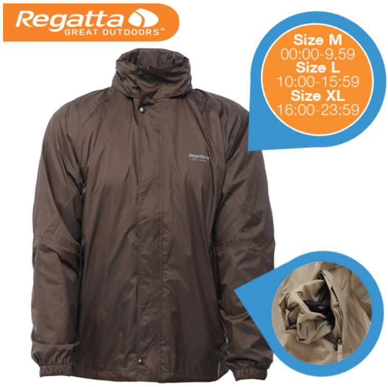 Regatta MW257 Magnitude III Otter   wasserdichte Windjacke für 23,90€