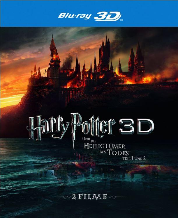 Harry Potter und die Heiligtümer des Todes, Teil 1 und 2 [Blu ray 3D] für 19,97€