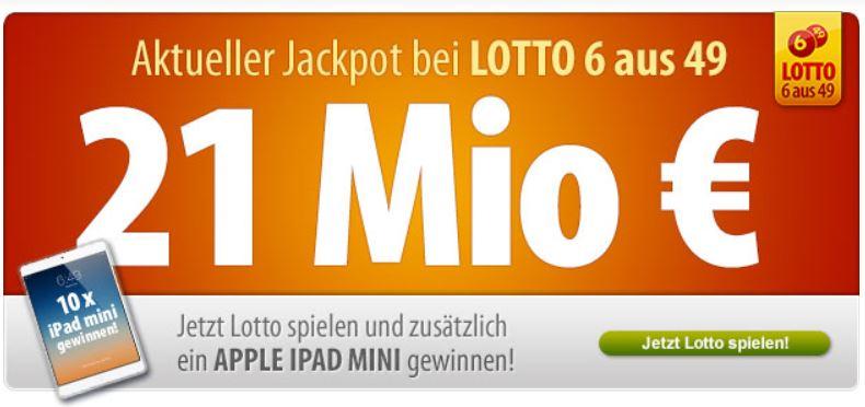 Tipp24 mit neuen Gutscheinen für Lotto 6 aus 49