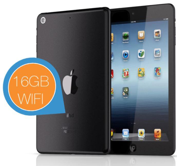 Apple iPad Mini 2 Wi Fi 16GB für 265,96€ statt 378€ im Vergleich   Preisfehler!