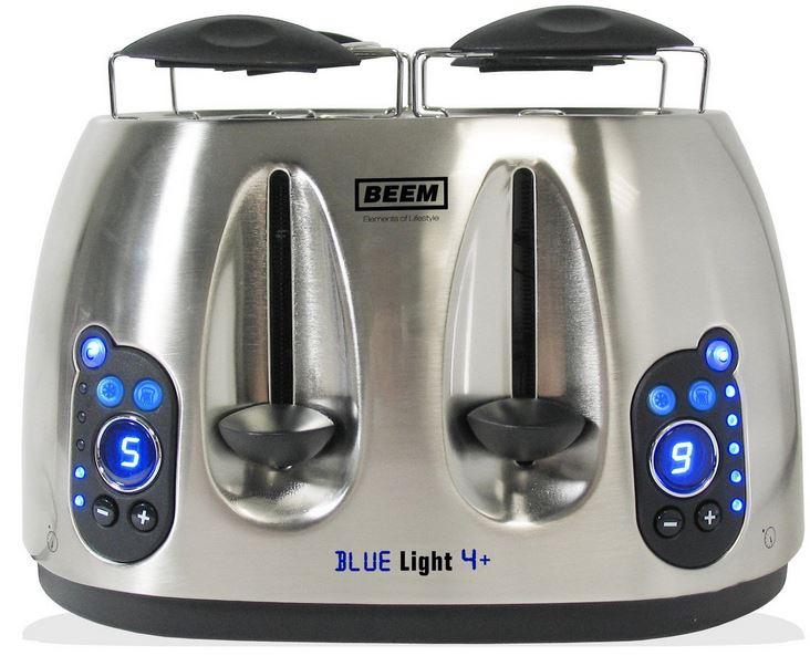 BEEM Blue Touch 4+ Toaster für 29,99€ (Vergleich 54€)