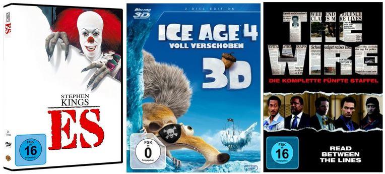 Filme & Serien zum Gruseln und mehr Amazon DVD und Blu ray Angebote der Woche   Update!