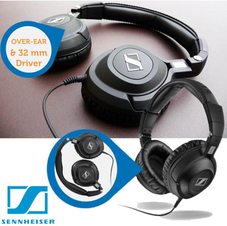Sennheiser HD 360 PRO   professionelle Studio Kopfhörer für 65,90€ (Preisvergleich 119€)   wieder da!