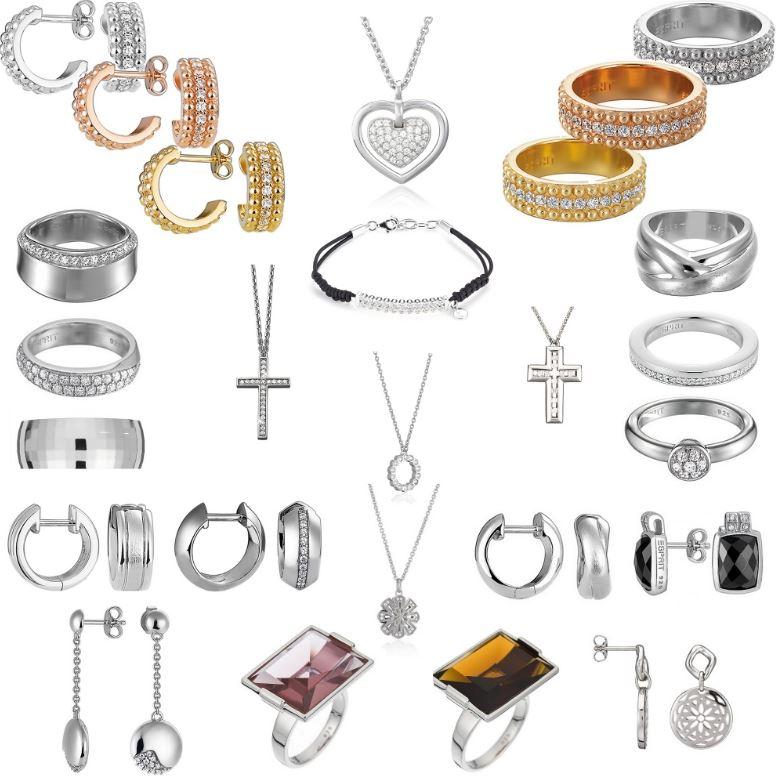 Esprit Damen Schmuck   Armbänder, Ringe und Ohrringe, 34 verschiedene Modelle für je 34,95€