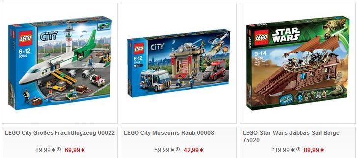 Lego Artikel mit 13,3% Rabatt bei Galeria Kaufhof   top Weihnachtsgeschenke ab Morgen   Update!