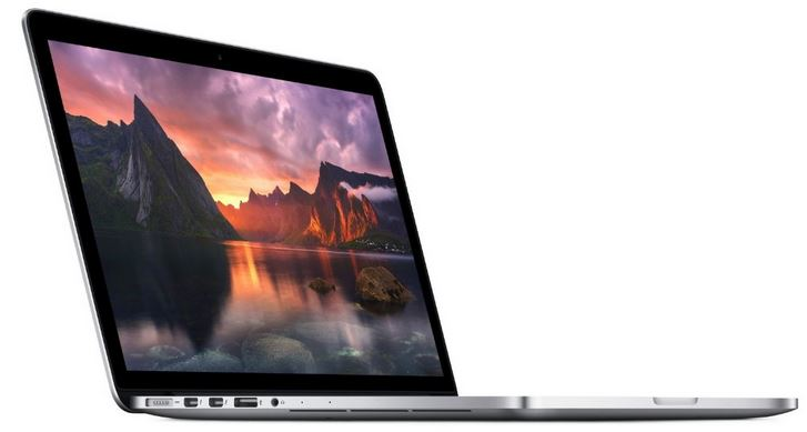 Apple MacBook Pro 13 Zoll Notebook mit i5, 128 GB SSD, Intel Iris Graphics für 1.137,08€