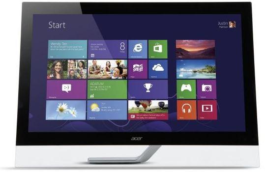 ACER T272HLbmidz   27 Zoll TouchScreen Monitor (MultiTouch) für 299€
