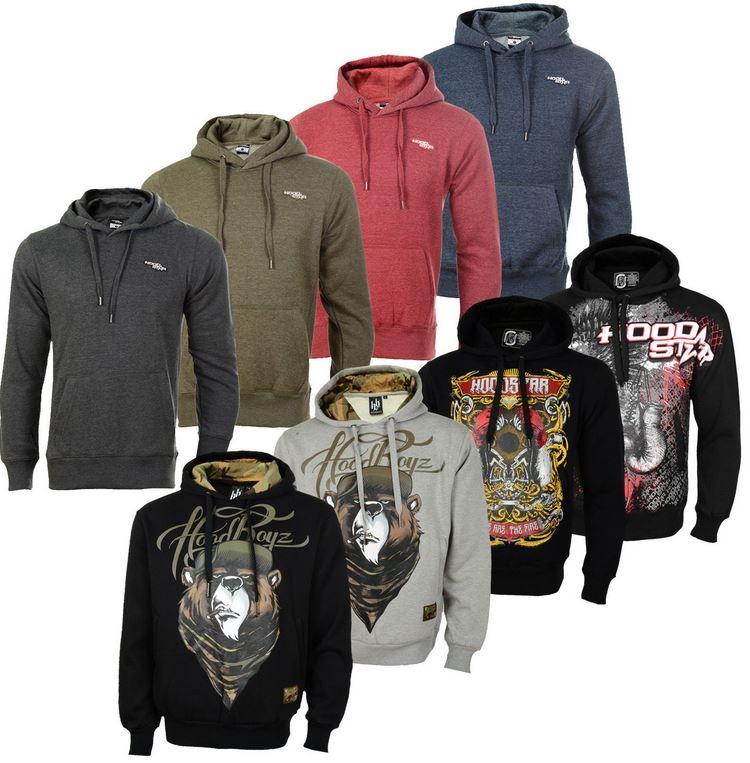 Hoodboyz & D & A Lifestyle Hoodies für je 22,90€