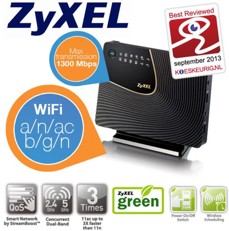 Zyxel Router NBG6716   WiFi Next Generation Router für 95,90€