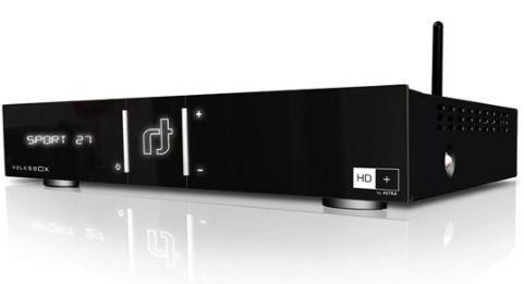 Volksbox Webedition 6651N   HDTV Sat Receiver, Smart TV, PVR ready inkl. HD+ Karte für nur 99€   wieder da!