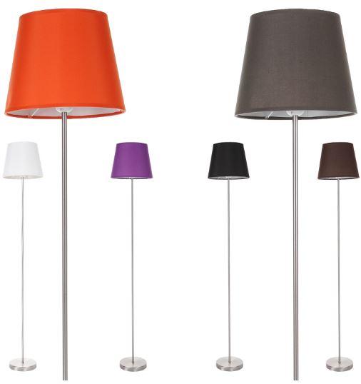 Wofi Cesena   Stehleuchte in 6 verschiedenen Farben für je 29,90€   Update!